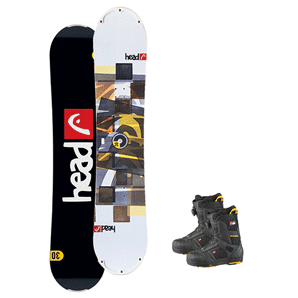Snowboardpaket knatte